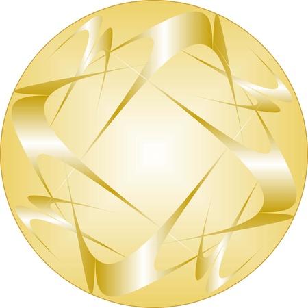 Seamless fabric pattern, gold decorative seamless fabric patterns Illustration