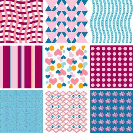 Excellent seamless floral pattern, seamless wallpaper, seamless fabric design