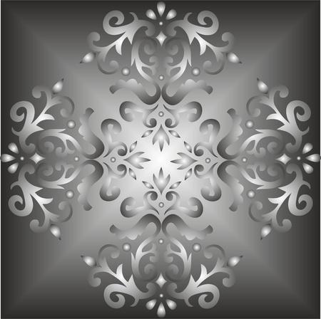 elegant light seamless fabric patterns, classic ottoman pattern Stock Vector - 13517499