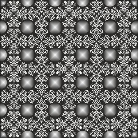 Elegant light seamless fabric patterns, classic ottoman pattern,