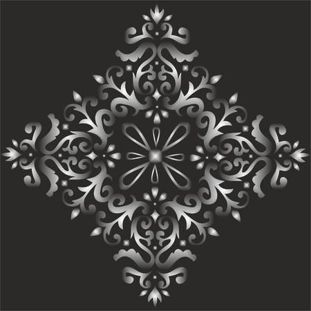 elegant light seamless fabric patterns, classic ottoman pattern Stock Vector - 13517545