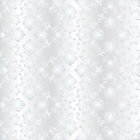 elegant light seamless fabric patterns, classic ottoman pattern Stock Vector - 13517547