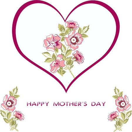 happy mother s day Stock Vector - 13707759