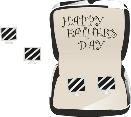 Abstract black background , vector illustration,happy father s day Ilustrace