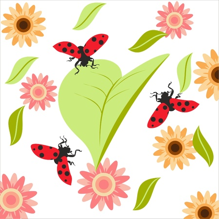 Flora Fauna Stock Vector - 13707778
