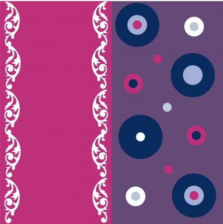 seamless patterns and greeting cards Stock Vector - 14299355