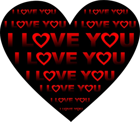 Valentines Day background with Hearts,
