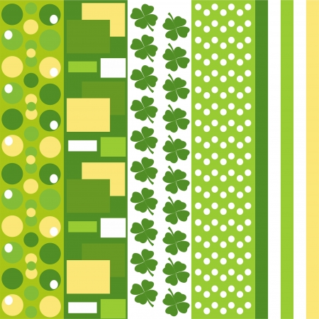 Saint Patrick s day seamless background Vector