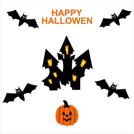 hallowen: happy halowen card