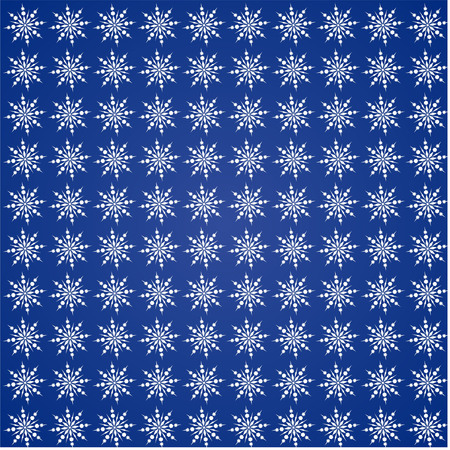 Christmas fancy fabric pattern, christmas snow on dark blue background, Christmas fancy fabric pattern Illustration