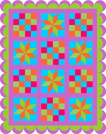 patchwork seamless pattern, Seamless background patchwork style