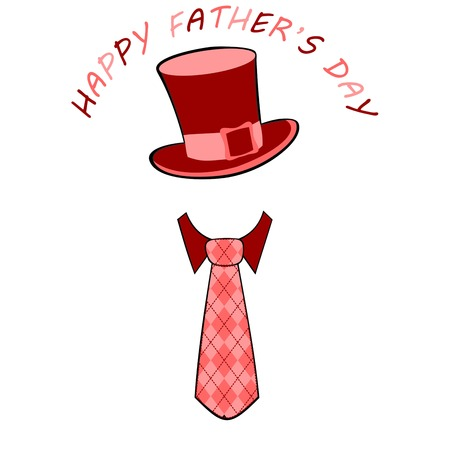 farther: fathers day greeting card, fathers day greeting card on a white background, cute dad accessories