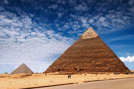 Egyptian pyramids Stock Photo - 1896691