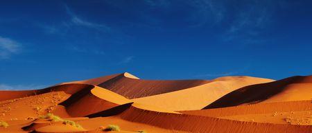 parch: Dunes of Namib Desert. Sossusvlei, Namibia.
