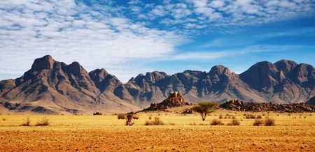 Rotsen van Namib Desert, Namibië