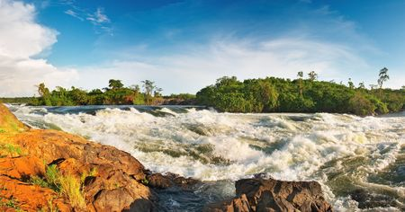 white nile: Nilo Blanco, Bujagali Falls, Uganda