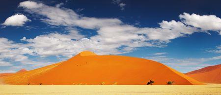 Dunes of Namib Desert. Sossusvlei, Namibia Stock Photo - 2706550