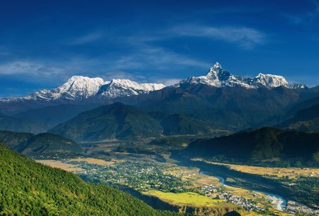greatness: Annapurna massif, view from Sarangkot, Nepal