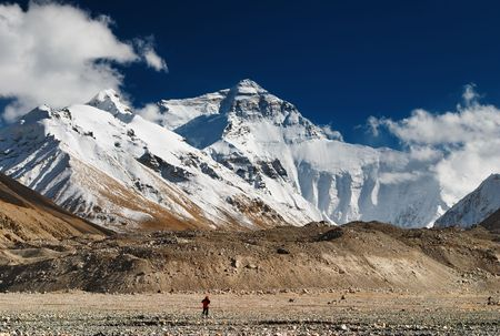 alpinism: Mount Everest, North face