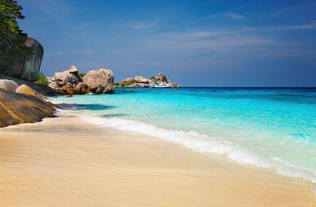 Tropical beach, Similan Islands, Andaman Sea,Thailand