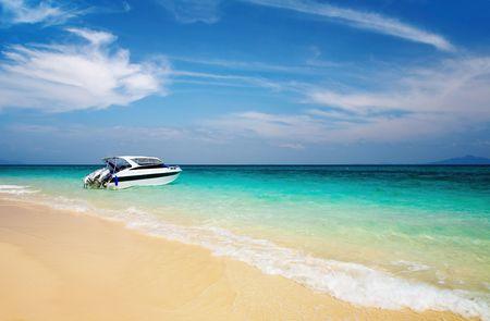 andaman: Tropical beach, Bamboo Island, Andaman Sea, Thailand
