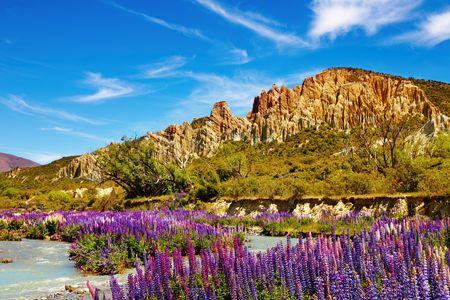Clay Cliffs Scenic Reserve, New Zealand