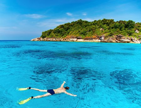 tropical paradise: Tropical paradise, Similan islands, Andaman Sea,Thailand  Stock Photo