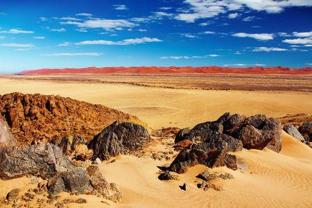 Namib Desert, dunes of Sossusvlei Stock Photo - 4581459