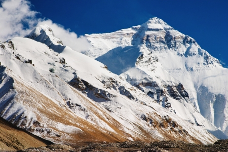 greatness: Mount Everest, North Face, base camp