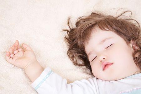 infancy: Sleeping baby
