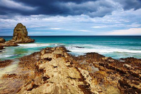 cannibal: Coastal view, Cannibal Bay, New Zealand