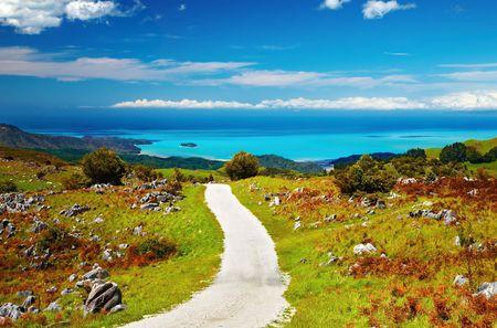 Coastal view, Abel Tasman National Park, New Zealand  photo