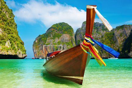 andaman: Tropical beach, Maya Bay, Andaman Sea,Thailand