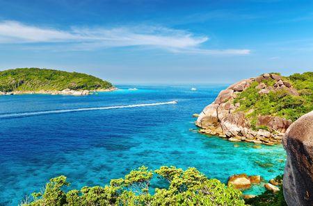 Tropical paradise, Similan islands, Andaman Sea, Thailand   Imagens
