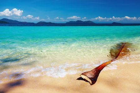 Tropical beach, Wai island, Thailand  photo