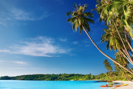 Tropical beach, Kood island, Thailand Stock Photo - 6268573