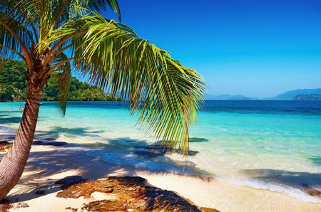 Tropical beach, Wai island, Thailand Stock Photo - 6268577