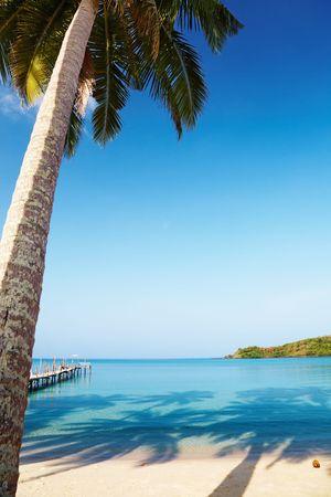 Tropical beach, Kood island, Thailand photo