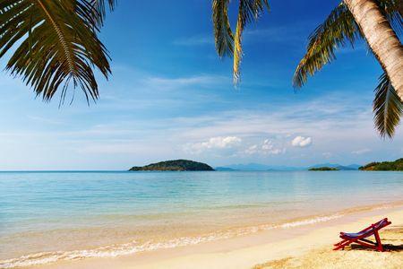 Tropical beach, Mak island, Thailand Stock Photo - 6298525