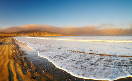 Atlantic coast, Luderitz, Namibia, Agate Beach
