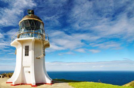 zealand: Cape Reinga Lighthouse, north edge of New Zealand