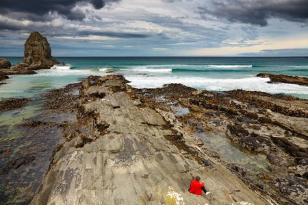 cannibal: Cannibal Bay, Catlins Coast, New Zealand
