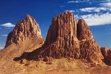 Rocks in Sahara Desert, Hoggar mountains, Algeria Stock Photo - 8624413