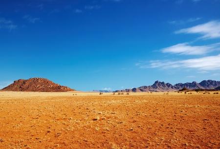 parch: Namibian landscape, Namib Desert, Naukluft national park Stock Photo