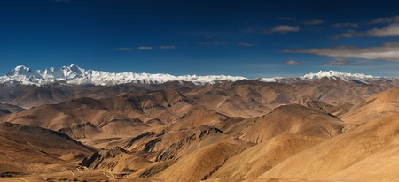 Tibetan landscape, Himalayan Ridge Stock Photo - 9025545