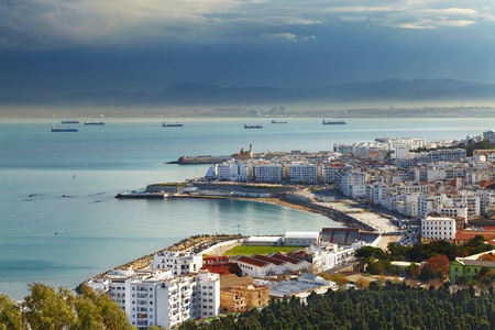 Algiers the capital city of Algeria, Northern Africa Stock Photo - 13401819