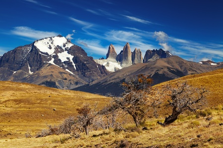 torres del paine: Torres del Paine National Park, Patagonia, Chile