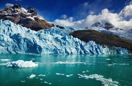 アルヘンティーノ湖、Spegazzini 氷河のパタゴニア、アルゼンチン