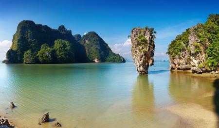 Phang Nga Bay, James Bond Island, Thailand Stok Fotoğraf - 13621273