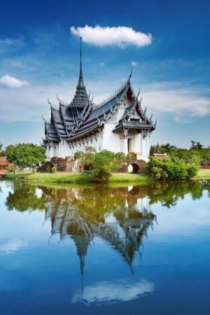 bangkok city: Sanphet Prasat Palace, Ancient City, Bangkok, Thailand